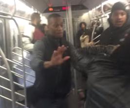 Golpes en el Metro