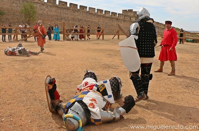 Combate-medieval-Belmonte
