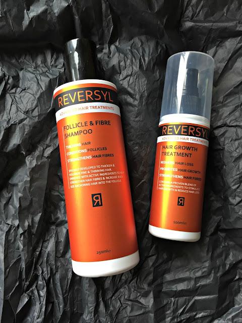 Reversyl hair growth treatment