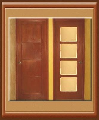 Puertas para recamaras o armario entamboradas con molduras - Molduras para puertas ...