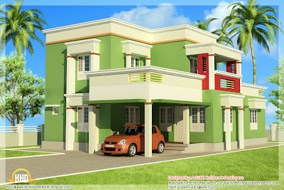 Contoh Desain Rumah 2 Lantai Minimalis