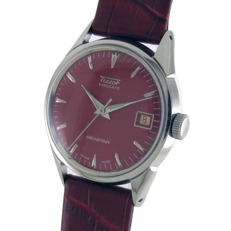 Antique watch and timepiece collection by wrist men watches tissot sea star visodate manual for Celebrity tissot watches