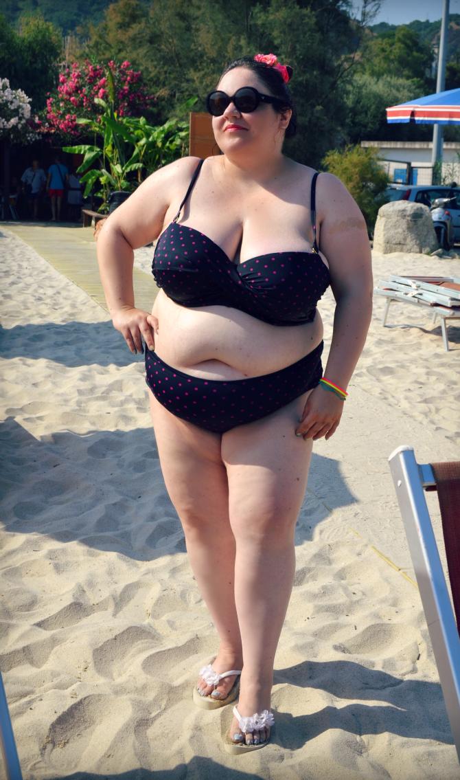 vacanza a tropea - bikini plus size