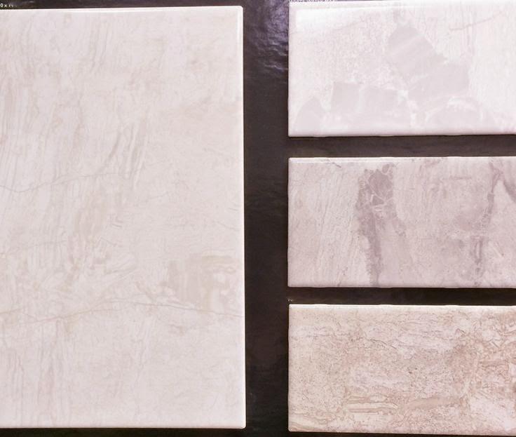 Ceramic tile pieces