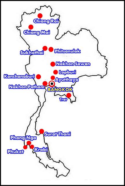 Rutas-Tailandia-mapa