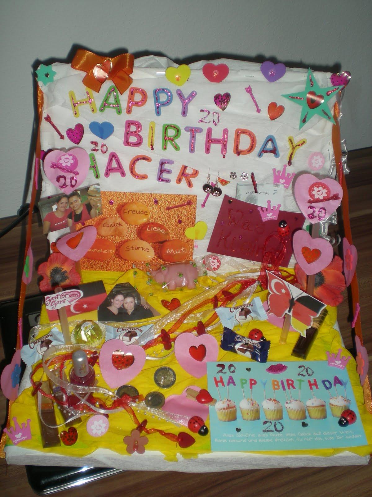 Geburtstag geschenke 20