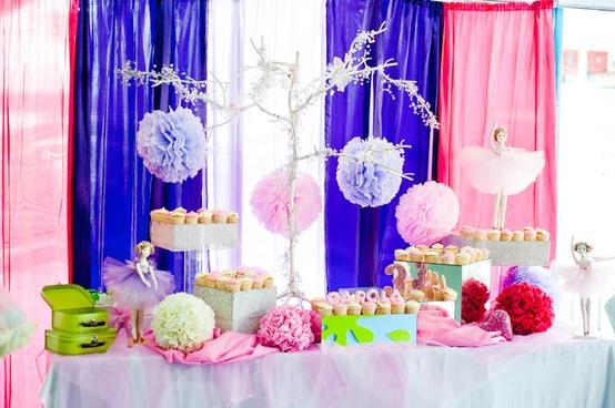 Ballerina decoraci n de fiestas de cumplea os infantiles - Todo para fiestas de cumpleanos ...