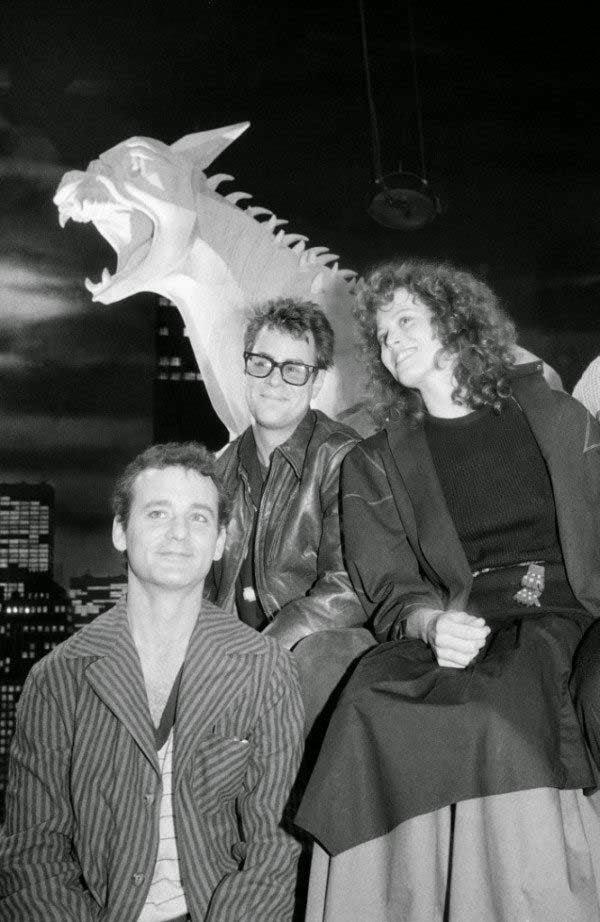 cazafantasmas(1985)- fotos rodajes 80