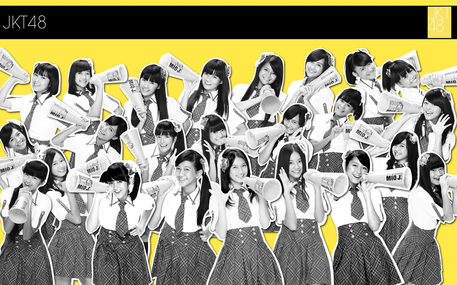 Wallpaper JKT48 - 6 Poster