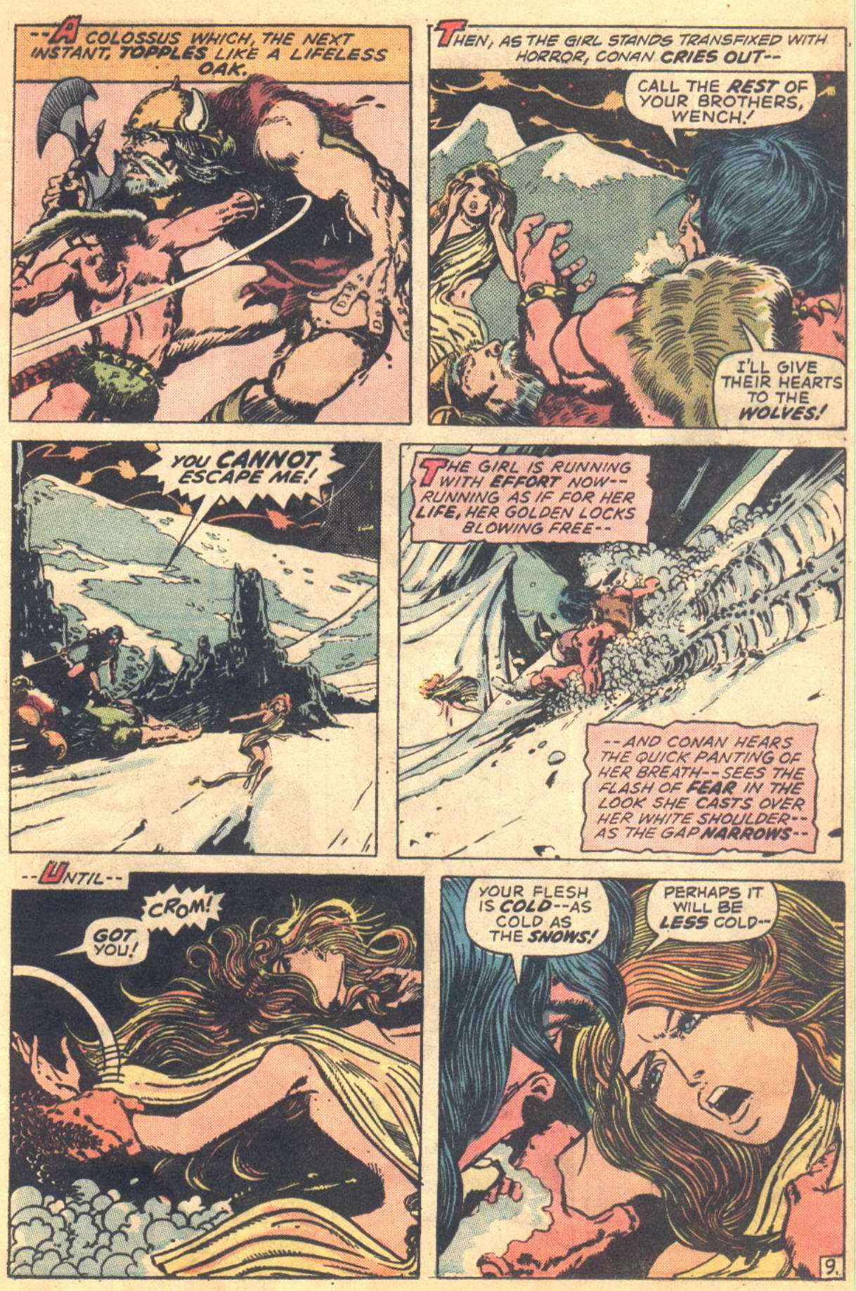 Conan the Barbarian (1970) Issue #16 #28 - English 9