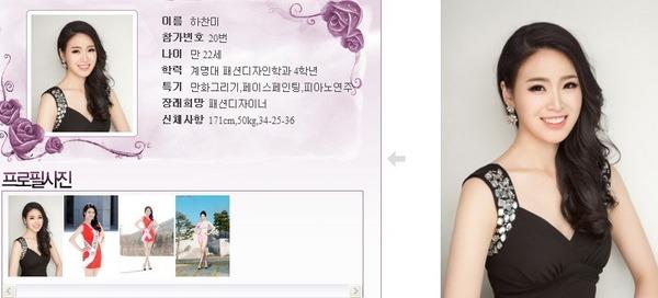 นางงามเกาหลี 2013 ศัลยกรรม หน้าเหมือนเป๊ะ - 04