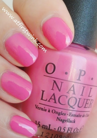 OPI Nail Lacquer - If you moust, you moust review