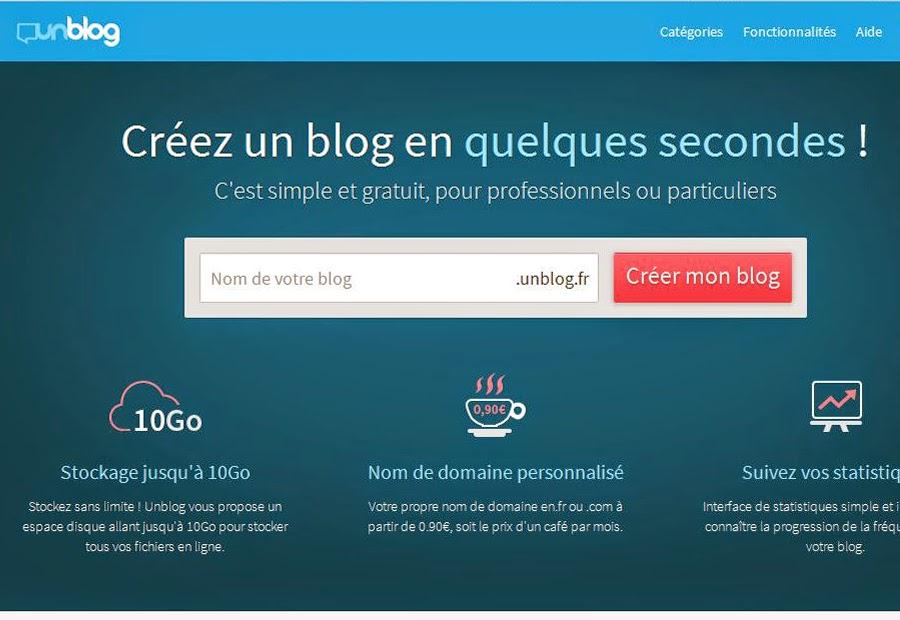 Créer un blog gratuit sans compétences informatiques avec Unblog.