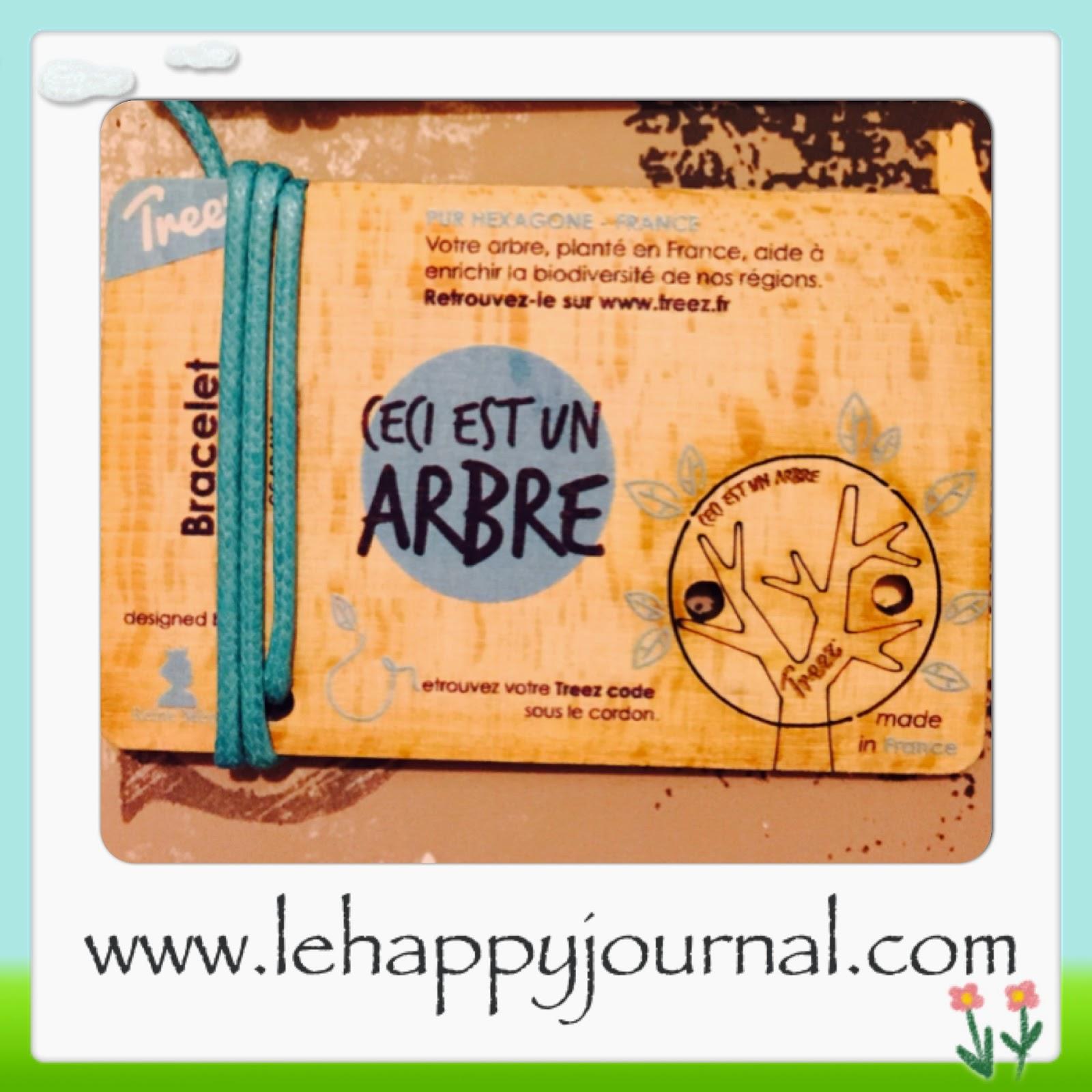 Treez, arbre, reforestation, partenaire, happy journal, eco responsable
