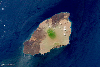 Satellite View of Pinta Island