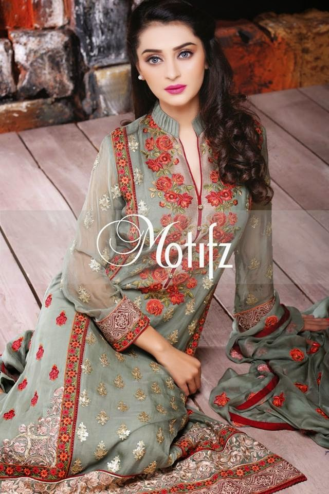 Motifz Spring Crinkle Chiffon Dress 2015