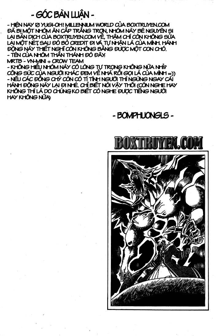 YuGi Oh – Vua Trò Chơi chap 315 Trang 21