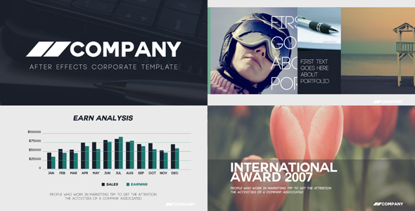 VideoHive Clean Corporate Presentation