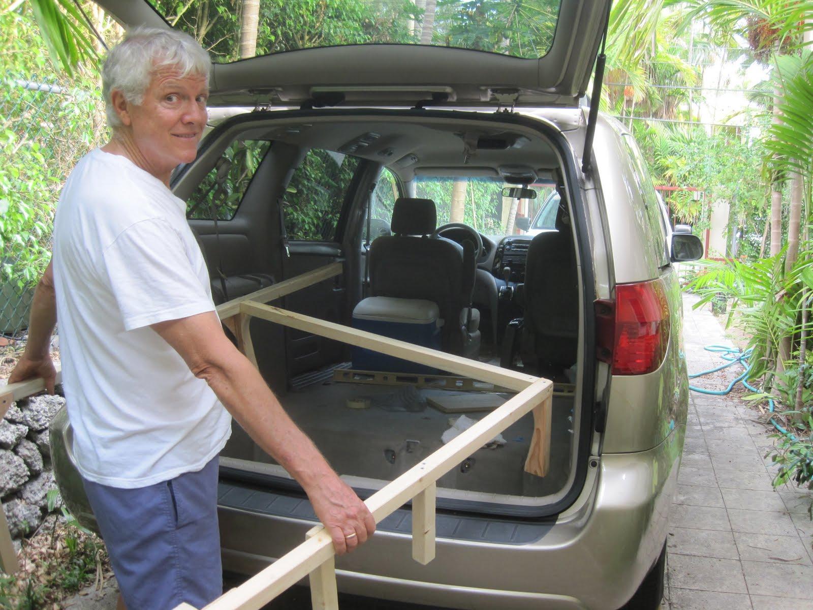 Sienna mini van camper conversion autos post