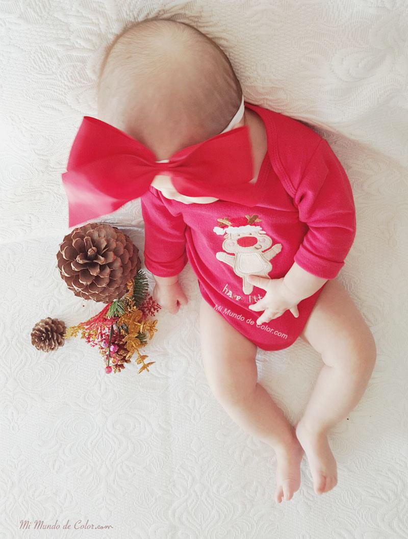 el look de mi bebe en navidad