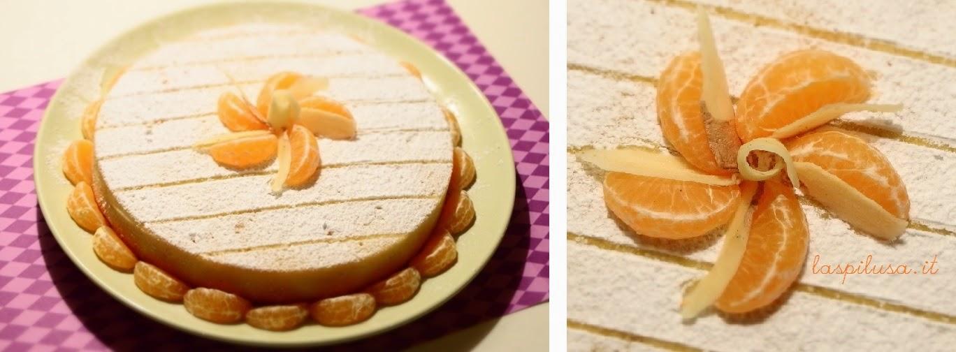 torta morbida zenzero e mandarino