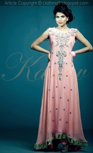Kanav By Suman Ali Formal wear 2015