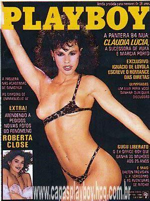 Cláudia Lúcia - Fotos Playboy 1984