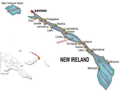 Surf Tourism Surf Management Plans New Ireland Papua New Guinea Png
