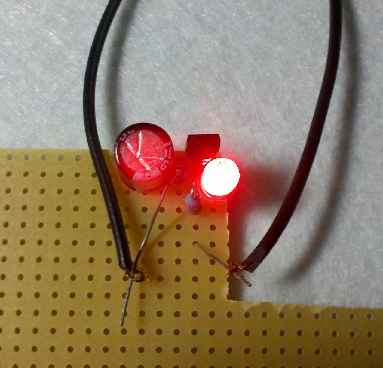Do It Yourself Gadgets Simple Led Flashing Circuit Sponsored By Build Then A