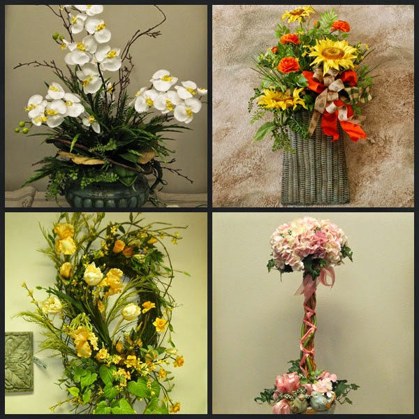 Home Decor Flower Idea Houston Silk Flower Arrangements