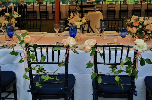 Bride & Groom Chairs - Splendid Stems Floral Designs