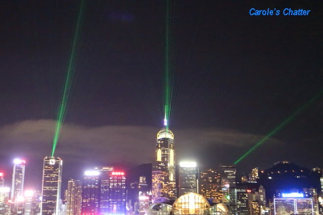 A Symphony of Lights in Hong Kong: Carole's Chatter