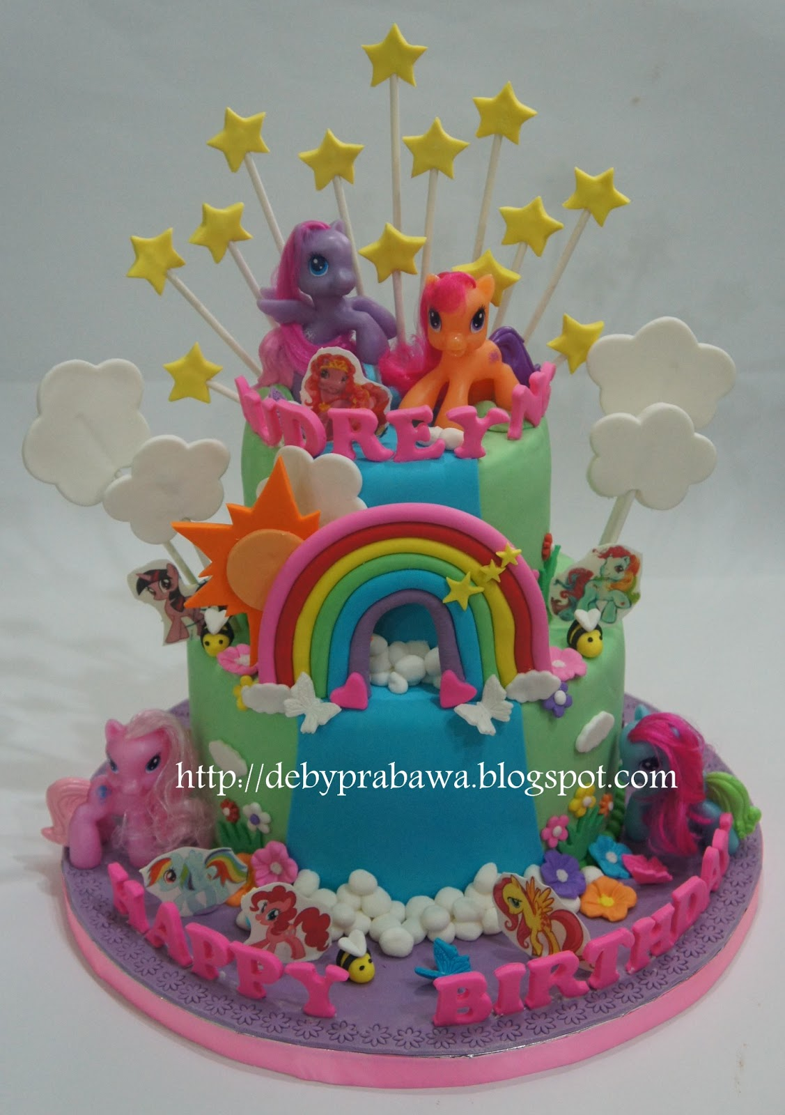 my lil pony cakes