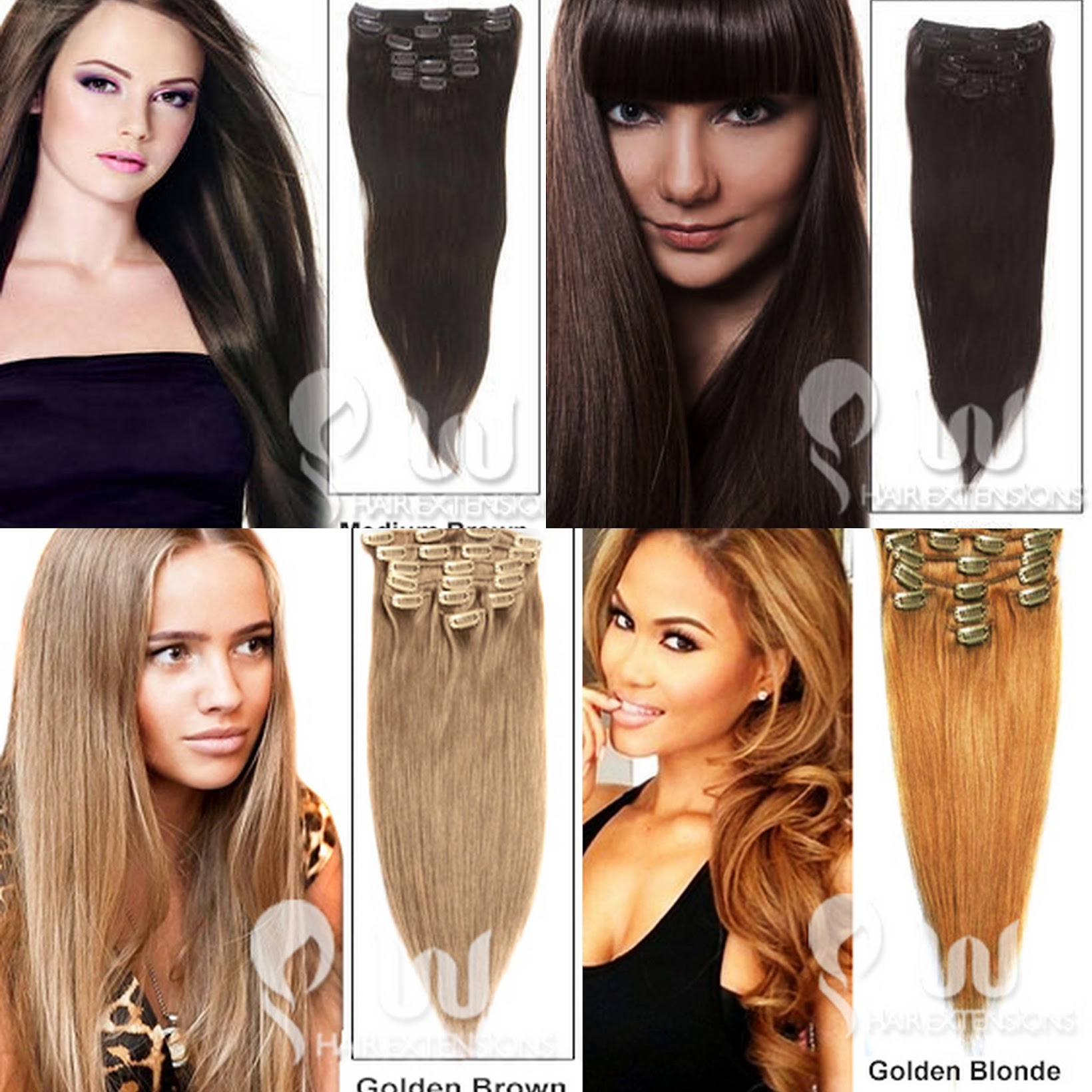 UU Hair extensions, Clip in hair extensions