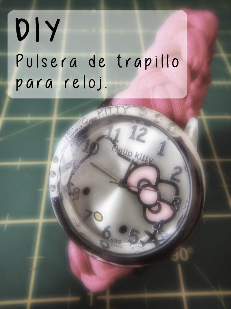 DIY- Correa de reloj