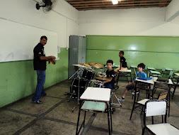ALUNOS DE BATERIA: