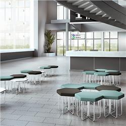 OFM Hex Stools and Tables