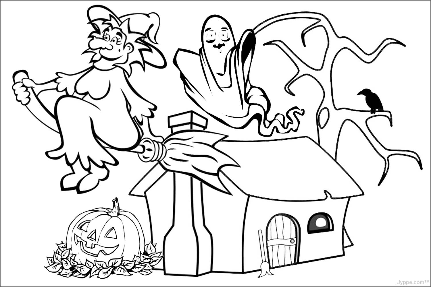 Colouring in halloween - Halloween Images To Color