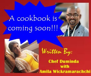 Cookbook of Chef Duminda and Amila