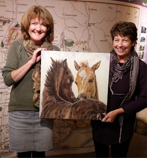 Sandy Poynter New Forest Open Art exhibition winner