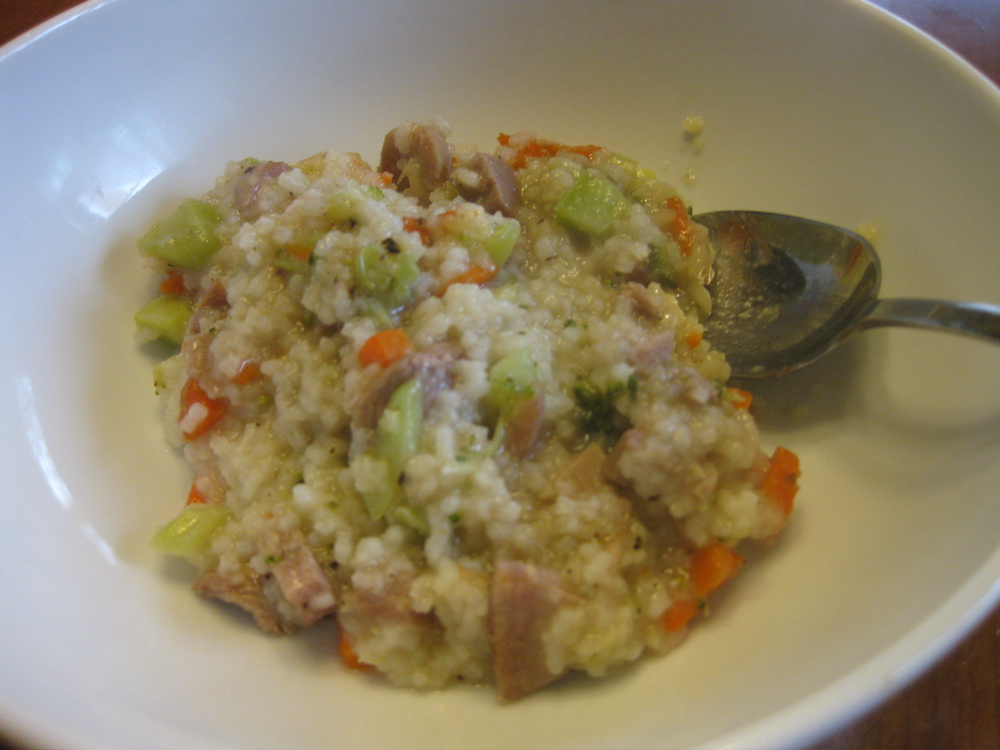Oishikatta ??????: Rice Cooker Turkey Jook
