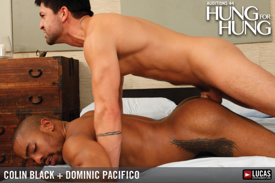 Hunky Dominic Pacifico gets nice gay
