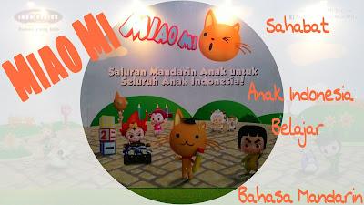 Miao Mi, Sahabat Anak Indonesia Belajar Bahasa Mandarin