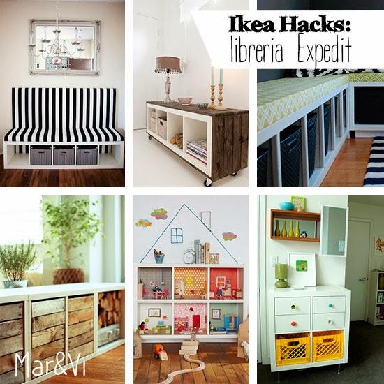 mar vi blog ikea hacks idee per personalizzare la libreria expedit. Black Bedroom Furniture Sets. Home Design Ideas