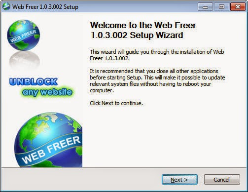 web freer free for android