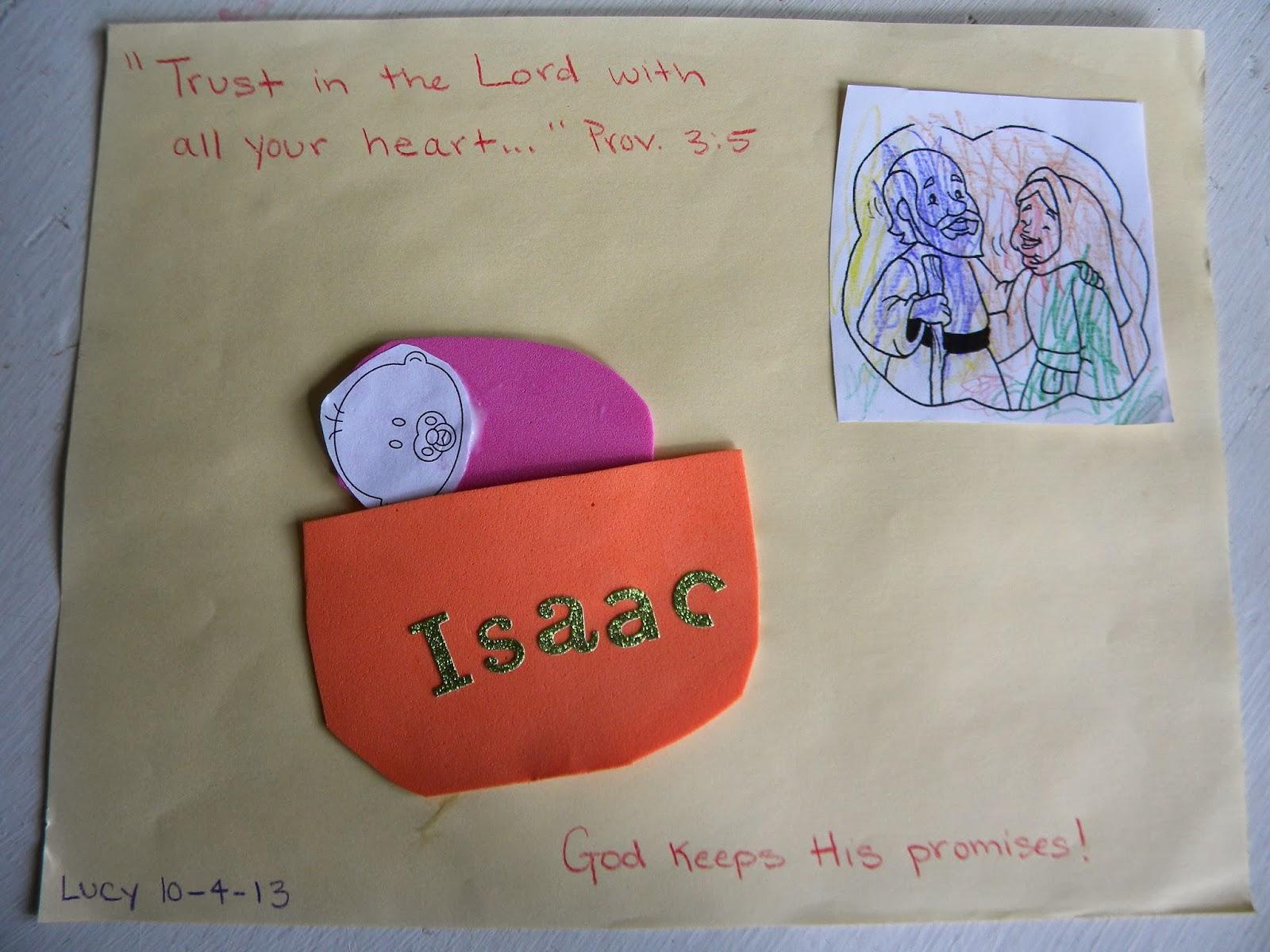 Abraham And Isaac Crafts Pinterest