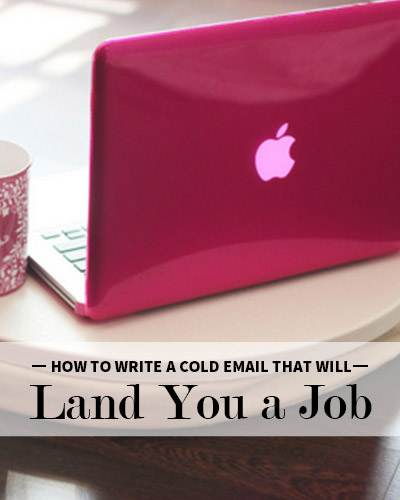 how to write a cold call email