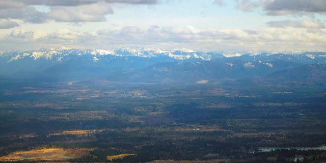 mountains near Seattle