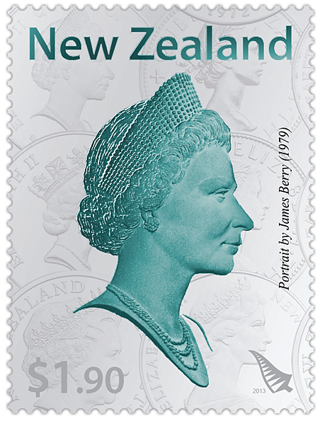 60th Wedding Anniversary Gifts New Zealand : new zealand coin was created by arnold machin it was in use in new ...