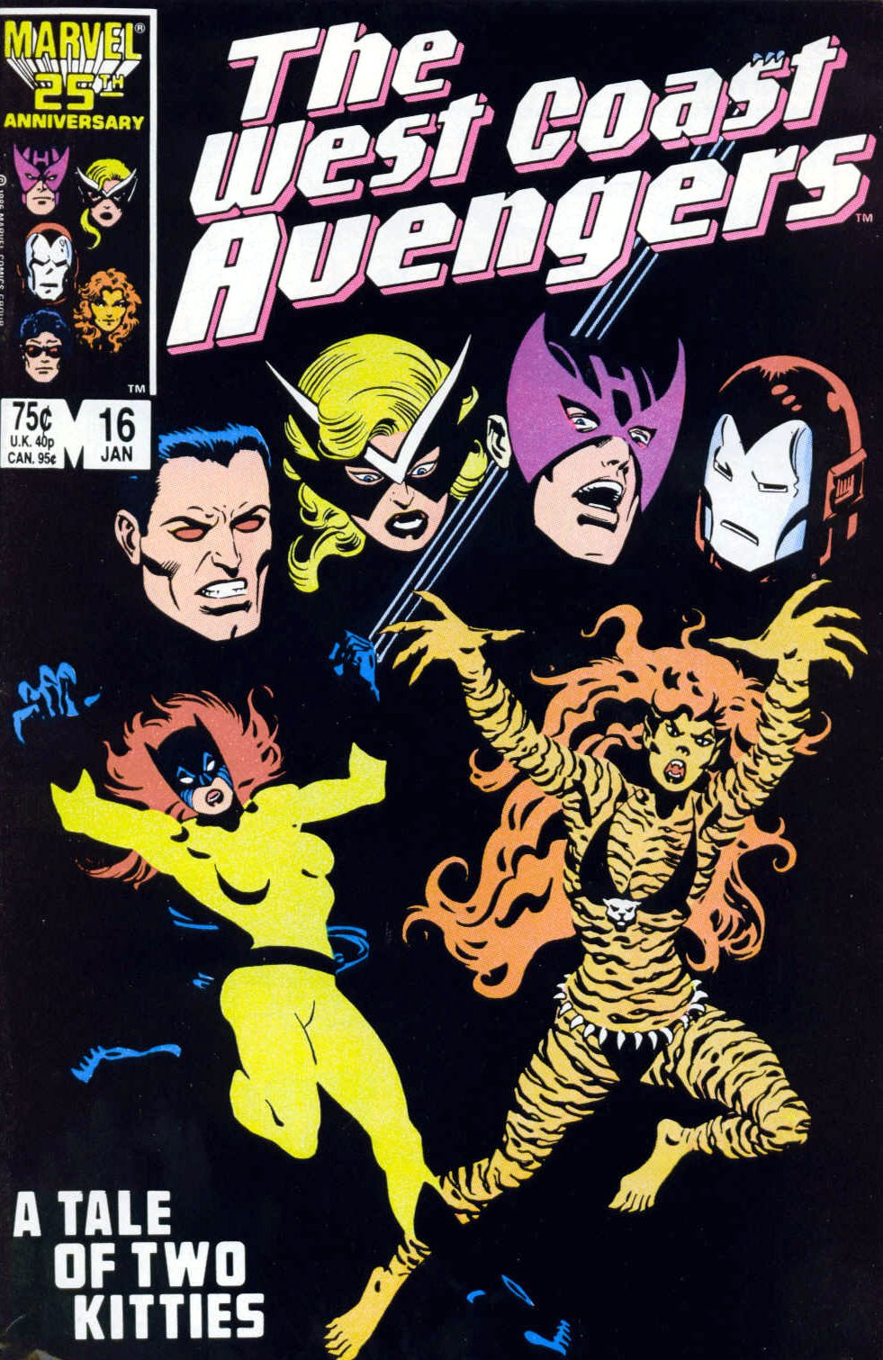 Captain America (1968) Issue #323b #252 - English 1